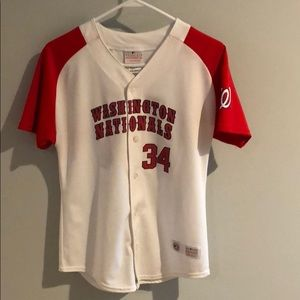 Other - Kids Washington Nationals Jersey
